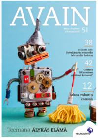 Avain-lehti 5 2019 kansikuva