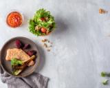 Seesamilohta, parsaa ja salaattia