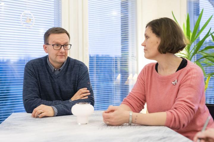 Jussi ja Anu Lehtinen