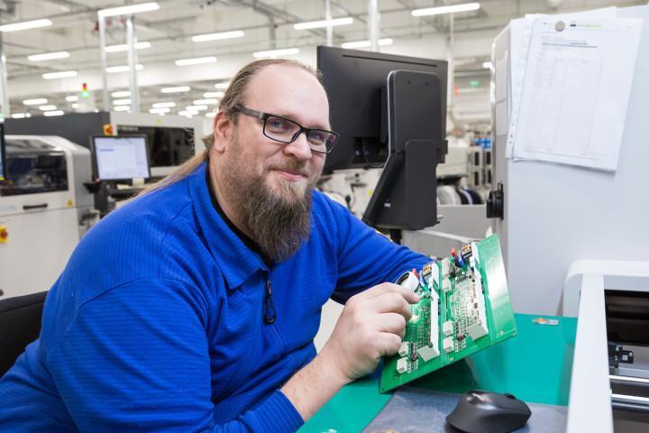 Mikko Virtanen työskentelee Teknowarella